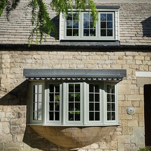 Woodgrain Alternative Windows