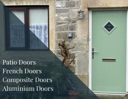 uPVC doors, composite doors