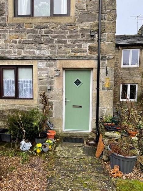 Composite front doors - customer photo