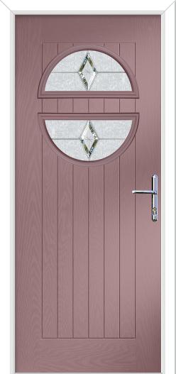Chantilly Farmhouse composite front door