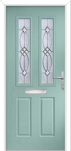 Carnoustie composite front door